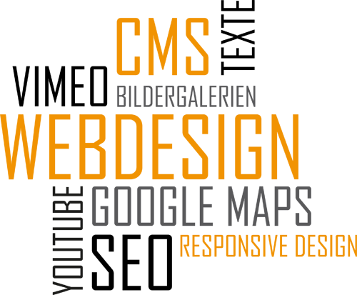webdesign cmd bildergalerien texte youtube google maps seo responsive design